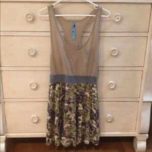 Free People Racer Back Floral Tank Dress